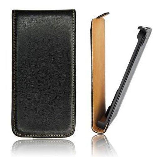 Mobility Gear MG-CASE-KF-AIP5P Etui à rabat slim pour iPhone 5 Rose Noir