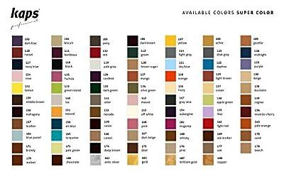 Kaps Super Color Teinture pour cuir naturel, soins chaussures, Accessoires, matières synthétiques et textiles, 500 ml