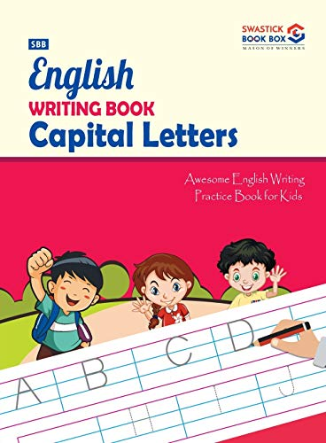 SBB English Writing Book Capital Letters