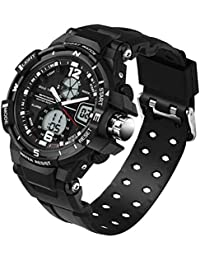 sportuhr Sanda Reloj Moda Personalidad Deportiva Tres Pin Impermeable Reloj electronico Reloj multifuncion