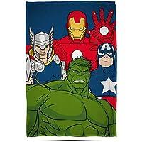 Disney Marvel Avengers Marvel Avengers 'Mission' Fleece Decke–Großer Print Design, mehrfarbig