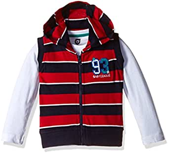 612 League Baby Boys' T-Shirt (ILW00S350021C_Red_18-24 months)