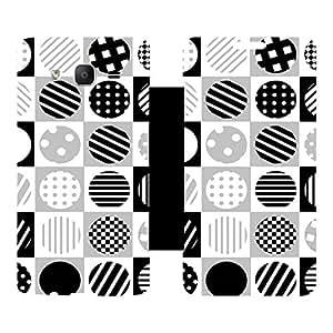 Skintice Designer Flip Cover with hi-res printed Vinyl sticker wrap-around for Samsung Galaxy J5 (2015)