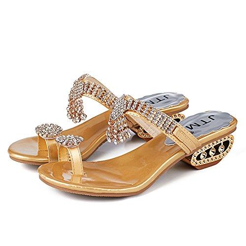Sandali con plateau donna, sandalo basso donna sandalo rosa,donne bow sandali pantofola al coperto outdoor flip-flop scarpe da spiaggia pantofole pelliccia