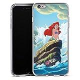 DeinDesign Apple iPhone 6s Plus Silikon Hülle Case Schutzhülle Disney Arielle Die Meerjungfrau Geschenke Merchandise