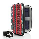 USA GEAR Étui Rigide pour GPS 5 pouces et Hotspot Wifi Portable. Compatible avec TomTom START 42 Europe , Garmin Nuvi 2567LM , Camper Et Bien Plus