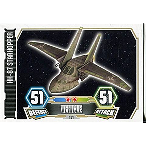 Force Attax Star Wars Serie 3,-#87 Starhopper 151 HH