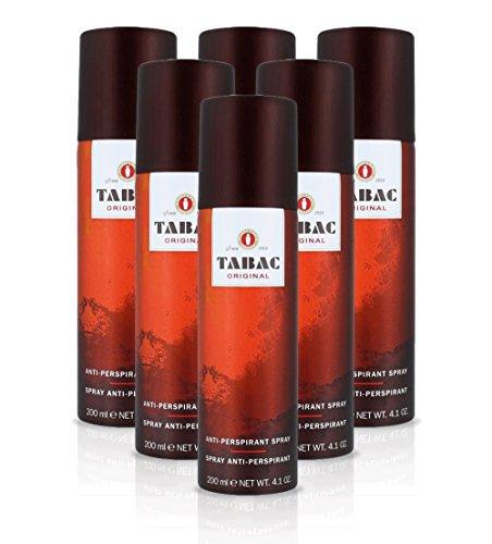 Tabac Original Deodorant, Anti-Transpirant, 200ml, 6Stück