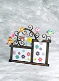 Bali Mantra Owl Photo Frame (Double)