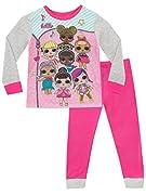 """Ragazze, pigiama di LOL Surprise! Unisciti al Club con questi pjs decorati con le bambole della serie 1. Proprio come Super B.B., vorrebbe """"salvare il mondo in preda al b 4"""" in questi jammies. L'adorabile pigiama a maniche lunghe presenta set..."""