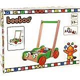 The Toy Company 0042604470 - BEE Laufwagen mit Bauklötzen, 20 Stück