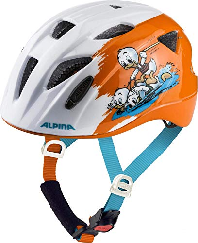 Alpina Unisex Jugend XIMO Fahrradhelm, Disney Donald Duck, 45-49 cm
