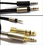 Câble audio de rechange pour casque Sennheiser Momentum 1,2m/1,5m/2,5m/3m