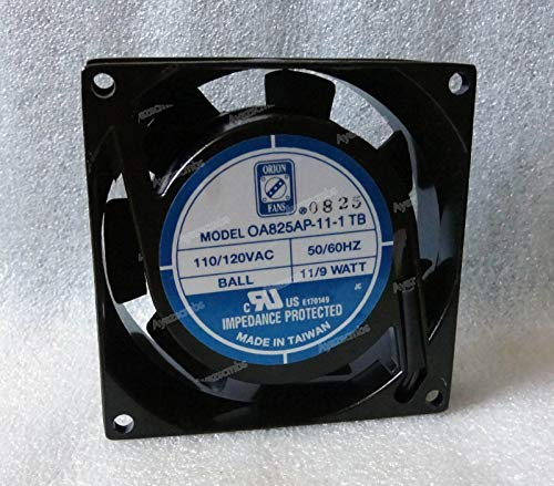 Ayazscmbs kompatibe für Orion 80mm x 25mm Lüfter 110V 115V 120V AC OA825AP-11-1 TB Made in Taiwan