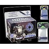 Star Wars: Imperial Assault Premium Bundle General Weiss Villain Pack + Fantasy Flight Board Game Sleeves Mini US + Standard