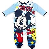 Disney Mickey Mouse Oh Boy, Pijama para Bebés, Azul (Blue), 3-6 Meses (Tamaño Fabricante:6 Meses)