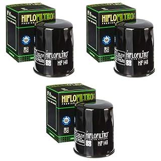 3x Ölfilter TGB Blade 550 4X4 SE IRS EFI LOF Edition 13-14 Hiflo HF148