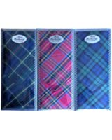 3 Pack All Cotton Ladies Scottish Embrodiery Handkerchiefs With Embrodiery