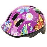 Meteor, casco da bicicletta per bambini, casco per skater. Casco di sicurezza , Buterfly, 48-52 cm