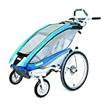 Thule Chariot CX 1 + Fahrradset blau 2017 Kinderanhänger