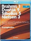 Brahms 1, Dvorak 9, Sibelius 5, Nielsen 3 [Alemania] [Blu-ray]