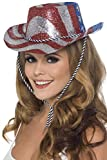Smiffys Sombrero de vaquero con brillantina