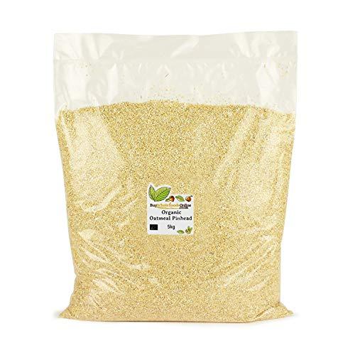 Organic Oatmeal Pinhead 5kg (Buy Whole Foods Online Ltd.)