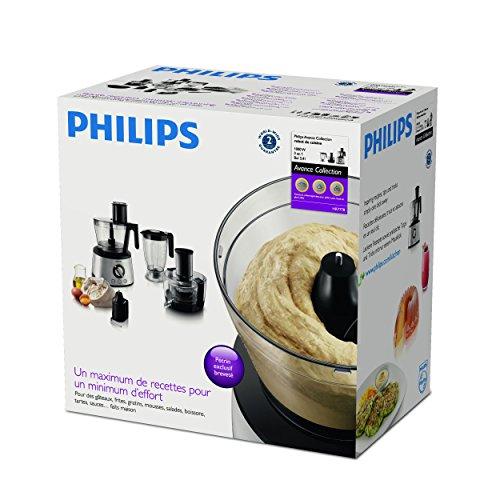 Philips HR7778/00 Küchenmaschine (1300 W, 30 Funktionen, Entsafter) schwarz/silber - 21