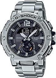 Casio GST B300E 5A G Shock Analog Digital Watch, Silver