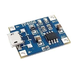 Micro USB 1A 18650 Li-ion Battery Charging Conseil Module TP4056