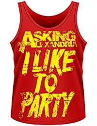 Asking Alexandria: Party (Canotta Unisex Tg. XL) [Italia]