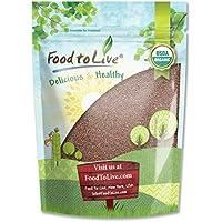 Food to Live Semillas de brócoli Bio para brotar (Eco, Ecológico, Kosher) 1.8 Kg