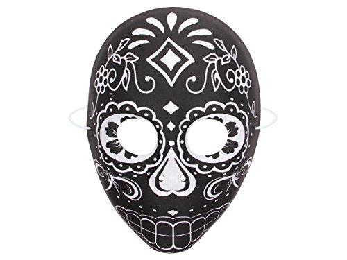 Alsino Halloween Maske Opernmaske Gruselmaske chinesische Kunststoff-Maske Horrormaske, Variante wählen:P973039-3