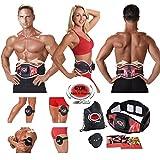 Gymform ABS-A-Round Pro Muskeltraining und Massagegürtel in Größen S/M (65-99cm), L/XL (100-140cm) - Original Produkt aus TV-Werbung