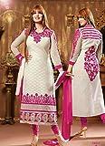 Rozdeal Womens Cotton Anarkali Unstitche...