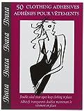 Cette Clothing, Cinta Adhesiva de lencería para Mujer, Weiß (Clear 390), única