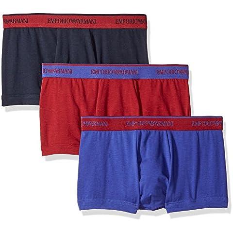 Emporio Armani 1113576a717 - Boxer para hombre, pack de 3