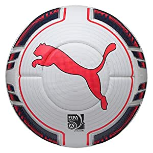 PUMA eVO power 1 statement ballon de football blanc/peacoat plasma 082219 5/15