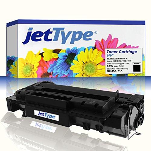 t HP Q6511A / 11A für LaserJet 2420 / 2420dn / 2420n / 2430, schwarz, 6.000 Seiten ()