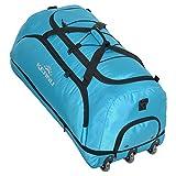 Reisetrolley faltbare Reisetasche KEANU 3 Rollen Trolley TWISTER 135 Liter, Wäschefach, Dehnfalte