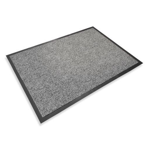 casa pura Premium Fußmatte in attraktiver Optik | Schmutzfangmatte in 5 Größen | hellgrau |...