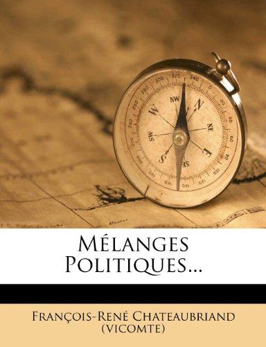 Mélanges Politiques...