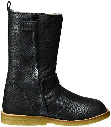 Bisgaard Tex Boot-61016216_200, Bottes courtes avec doublure chaude mixte enfant Noir - Schwarz (200 Black)
