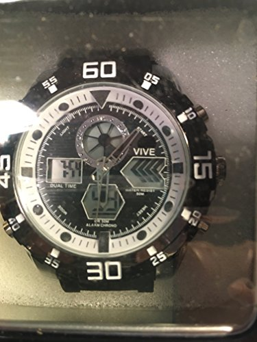 VIVE Fashion watch, VIVE Sport watch, VIVE Herrenuhr, VIVE Armbanduhr, VIVE LED Watch