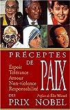 Telecharger Livres Paroles de paix des prix Nobel (PDF,EPUB,MOBI) gratuits en Francaise