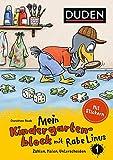 Mein Kindergartenblock mit Rabe Linus (1) Zählen, Malen, Unterscheiden (Einfach lernen mit Rabe Linus)