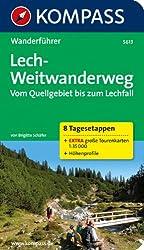 Lech-Weitwanderweg, Vom Quellgebiet bis zum Lechfall: Wanderführer mit Tourenkarten und Höhenprofilen (KOMPASS-Wanderführer)