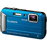 Panasonic Lumix DMC-FT30EB-A Waterproof Action Camera - Blue (16 MP, 4x Optical Zoom)