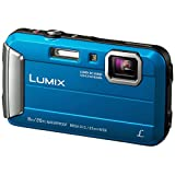 Panasonic Lumix DMC-FT30EB-A 16 MP 4x Optical Zoom Waterproof Action Camera - Blue