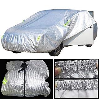ERQINGCZ Wasserdichte Autoabdeckung Voller Auto-Abdeckungs-Wasserdichter Sun-Regen-Schnee Hagel-Beständige Starke Selbstabdeckung Für Citroen C1 C2 C3 C4 C5 C6 C8 Ds3 Ds4 Ds5
